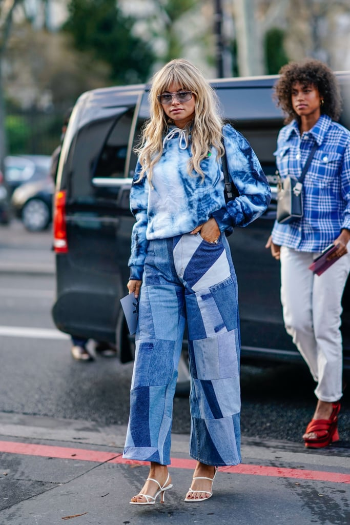 The Best Two-Tone and Patchwork Jeans 2021