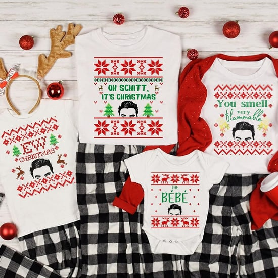 Schitt's Creek Matching Family Holiday Shirts and Onesies