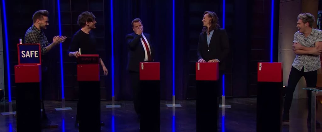 One Direction Plays Tattoo Roulette on James Corden