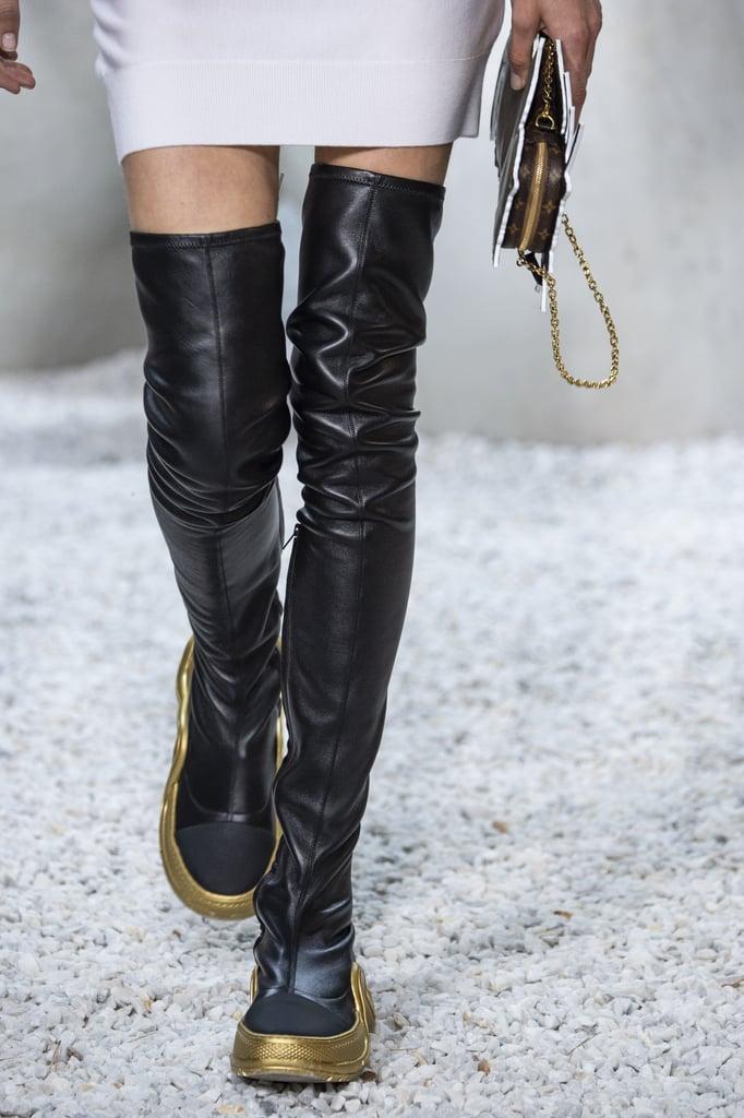 097e5b9198 Mary-Kate Olsen Wearing Louis Vuitton Sneakers | POPSUGAR Fashion UK