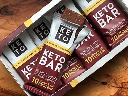 Perfect Keto Chocolate Protein Bar