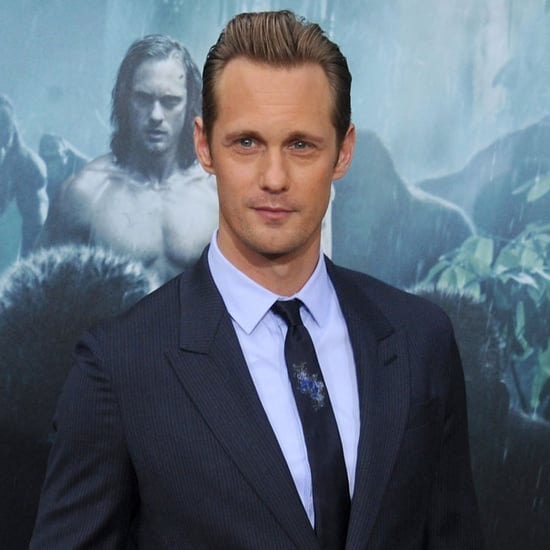 Alexander Skarsgard at LA Tarzan Premiere