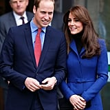 Kate leaned into William after wrapping up an official visit in Scotland in October.