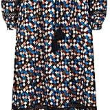 Tory Burch Geometric Printed Maxi Dress