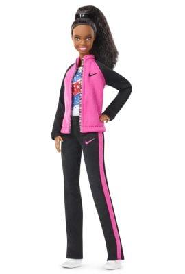 Gabby Douglas Barbie Doll