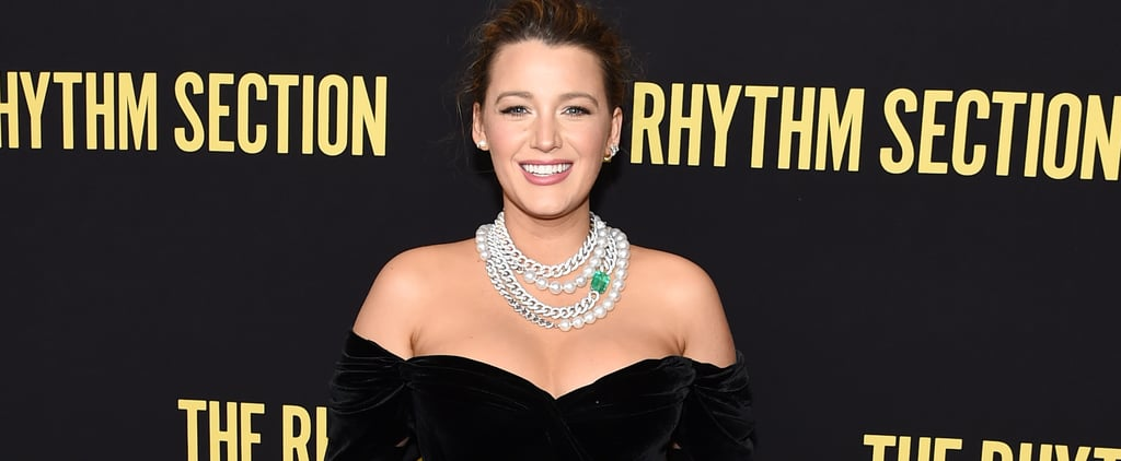 Blake Lively's Dolce & Gabbana Dress at Rhythm Section Event
