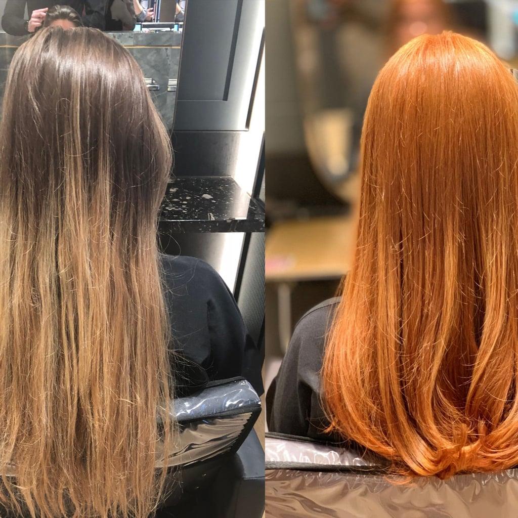 Copper Hair Dye Process | POPSUGAR Beauty