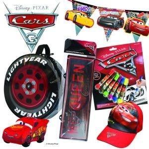 Cars Showbag ($26) Includes:  Wheel carry bag  Lightning McQueen plush toy  Roller stamp set