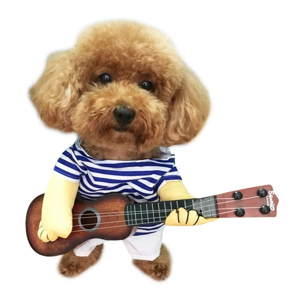 Pet Guitar Costume Dog Costume