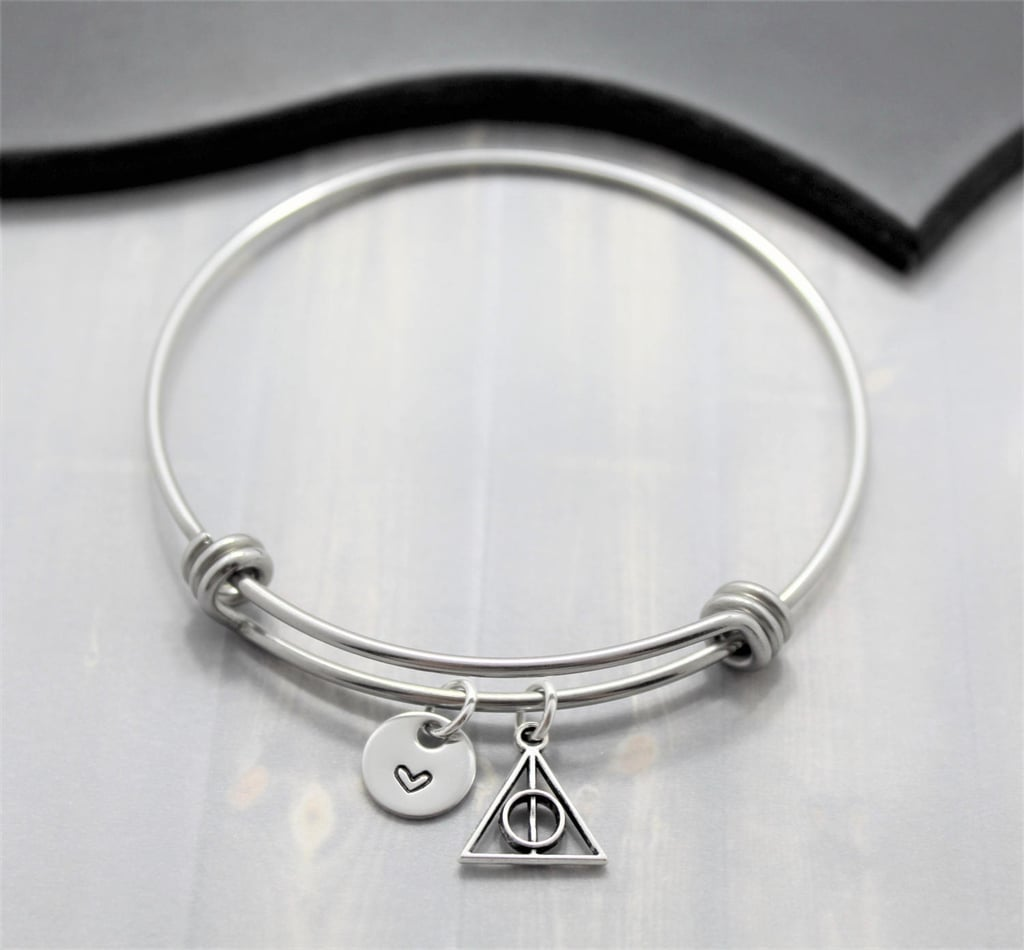 Deathly Hollows Bangle Bracelet ($16)