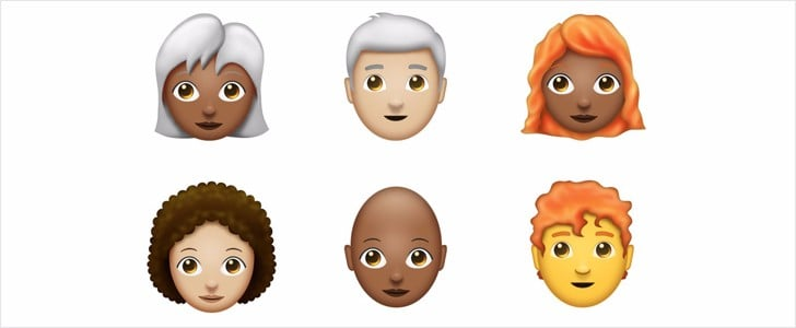 Redhead, Natural Hair, and White Hair Emoji Might Be Coming Our Way