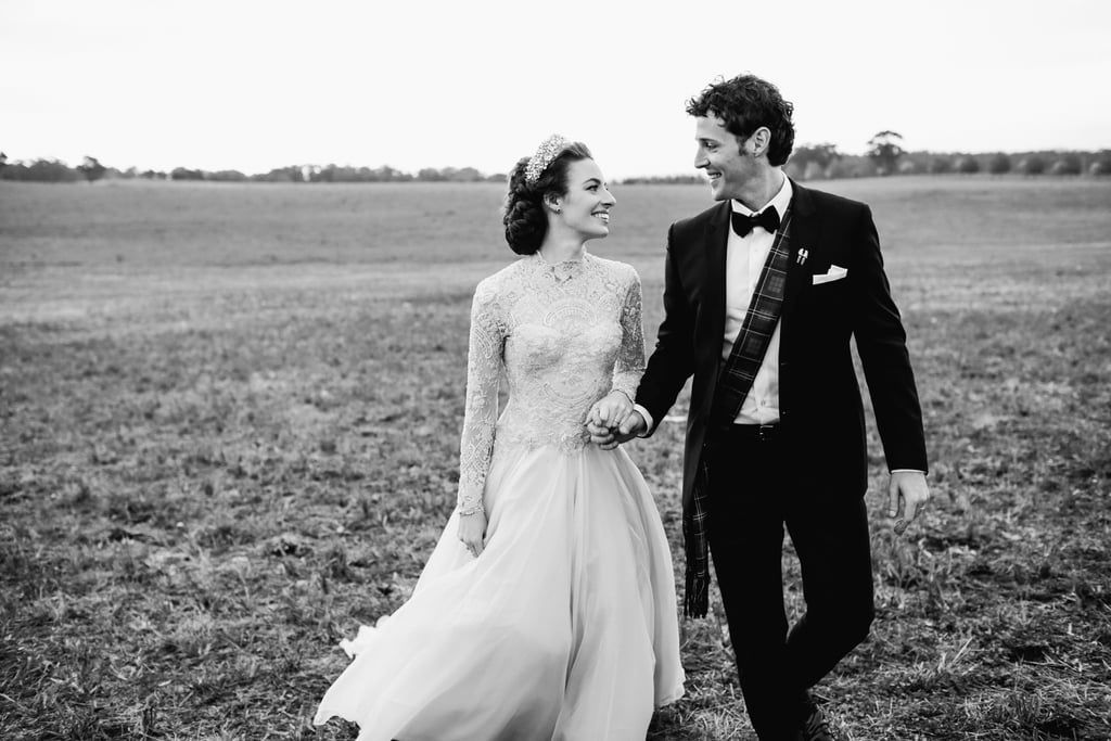 Emma Watkins Looked Like A Real Life Princess In Her Wedding Dress
