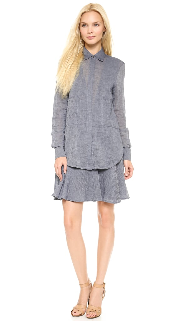 10 Crosby Derek Lam Two-Pocket Shirtdress
