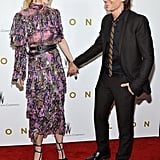 The two held hands as they walked the red carpet for the NYC premiere of Lion in November 2016.