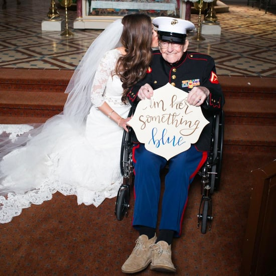 Bride Includes Her Veteran Uncle as Her Something Blue