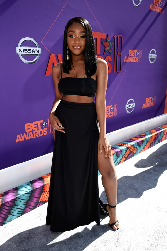 """Is it even legal to have this much talent and beauty? Normani has held our attention since she grabbed it during her time in Fifth Harmony. Although we miss seeing the group together, Normani hasn't gone anywhere. From Dancing With the Stars to her captivating performance with Khalid at the Billboard Music Awards, there's no limit to what this go-getter will do next. If you haven't seen her in her recent music video for """"Motivation"""" yet — first of all, we still want that skincare routine, girl — watch it immediately. Then, look through these stunning pictures that prove she is nothing less than a """"BO$$."""""""