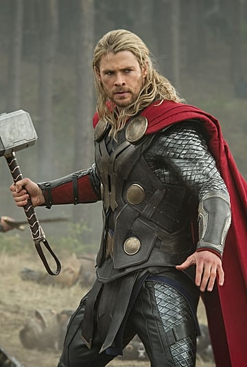 Chris Hemsworth's Photo With Son Who Wants to Be Superman
