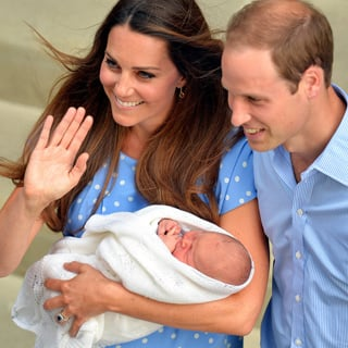 Celebrity News: Pictures Of The Royal Baby Prince George