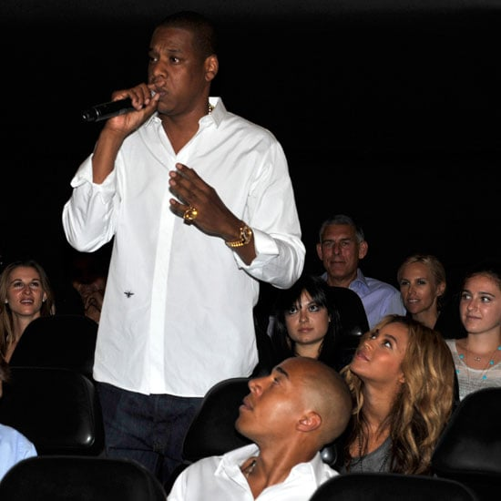 Beyoncé Knowles Photos at Listening Party For Kanye and Jay-Z