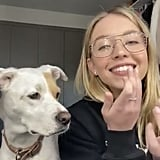 Sydney and Tank Hop on a Video Chat Together