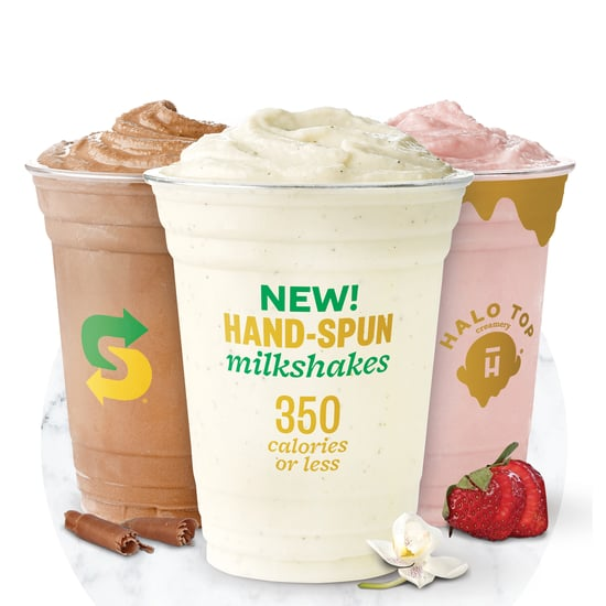 Subway Halo Top Milkshake