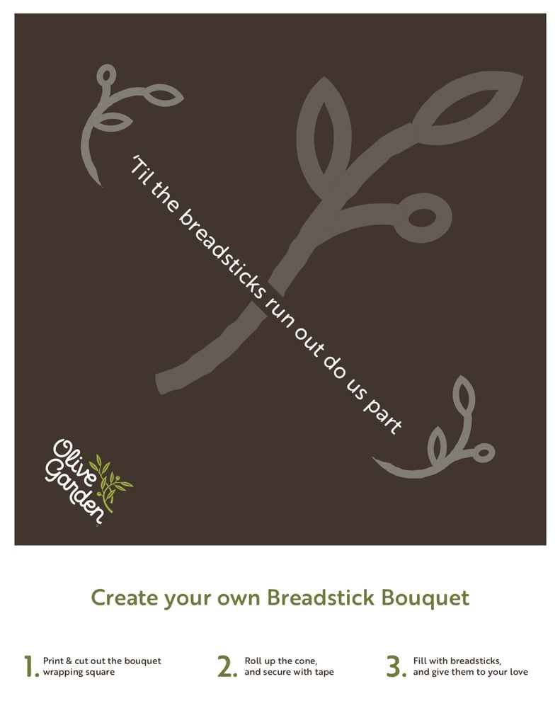 Olive Garden Breadstick Bouquets 2019