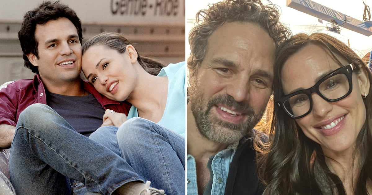 Pass the Razzles: Jennifer Garner and Mark Ruffalo Had a Sweet 13 Going on 30 Reunion.jpg