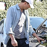 Mila Kunis and Ashton Kutcher Have a Low-Key Lunch Date