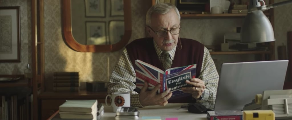 The Reason the Man in This Ad Is Learning English in Time For the Holidays Will Wreck You