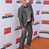Ellen DeGeneres worked her stuff on the orange carpet.