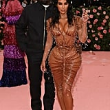 Kim and Kanye hit the red carpet together at the 2019 Met Gala.