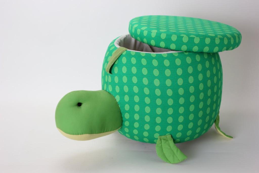 Pulloman Designs Pull-Along Turtle Ottoman