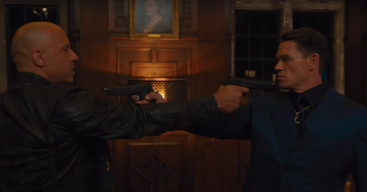 Brothers Vin Diesel and John Cena Go Head-to-Head in the Jam-Packed Trailer For Fast 9