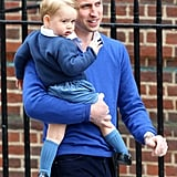 Prince George at the Hospital 2015