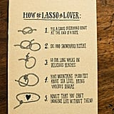 How to Lasso a Lover Cards
