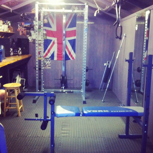 Home Gym In Shed: A Gym Shed Can Be Configured With Only The Equipment The
