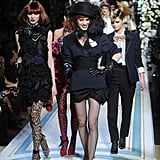 Photos of Lanvin for H&M Fashion Show
