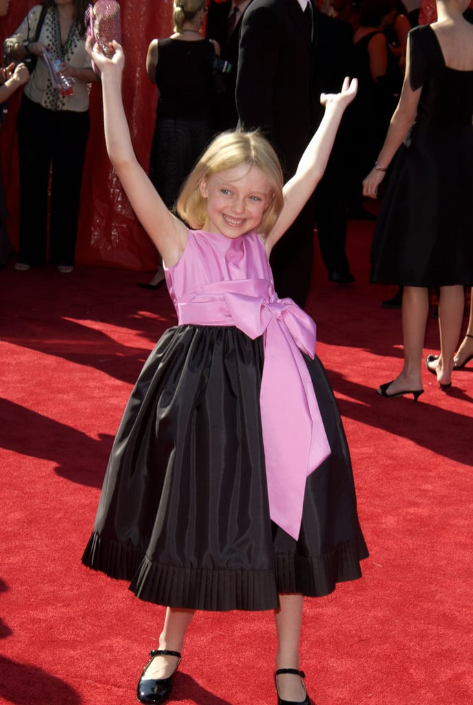 Dakota Fanning at the 2003 Emmy Awards