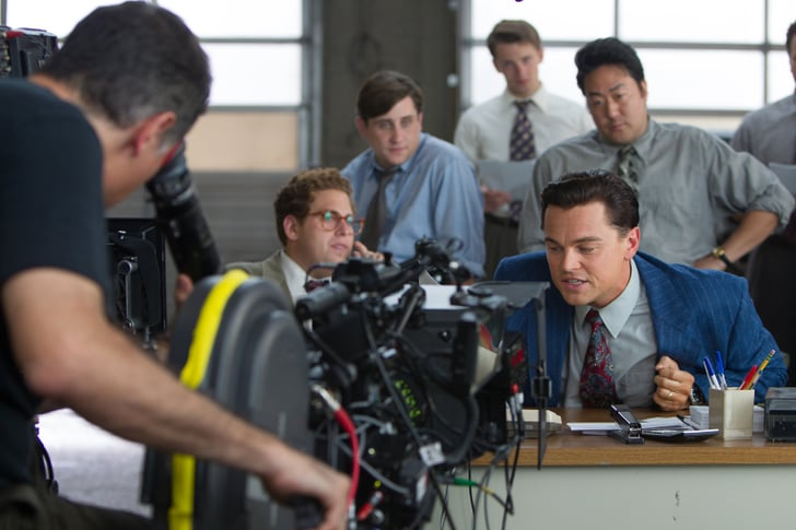 Exclusive: See Leo and Jonah Behind the Scenes on The Wolf of Wall Street