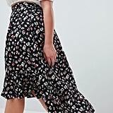 AX Paris Plus Drop Hem Skirt