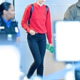 Gal Gadot's Sleek Skinny Jeans Look Designer — but They're Only $68