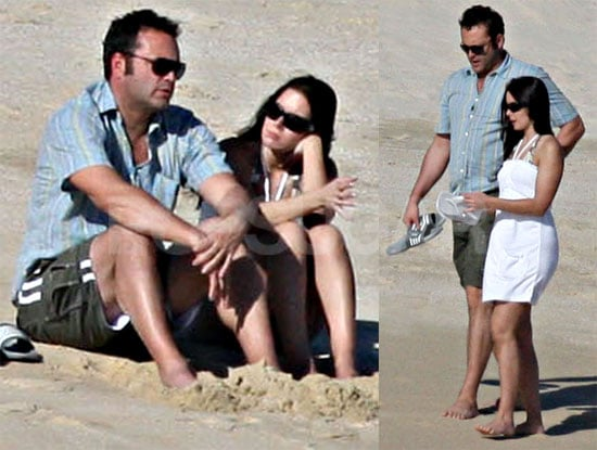 Photos of Vince Vaughn and Kyla Weber on Vacation in Cabo