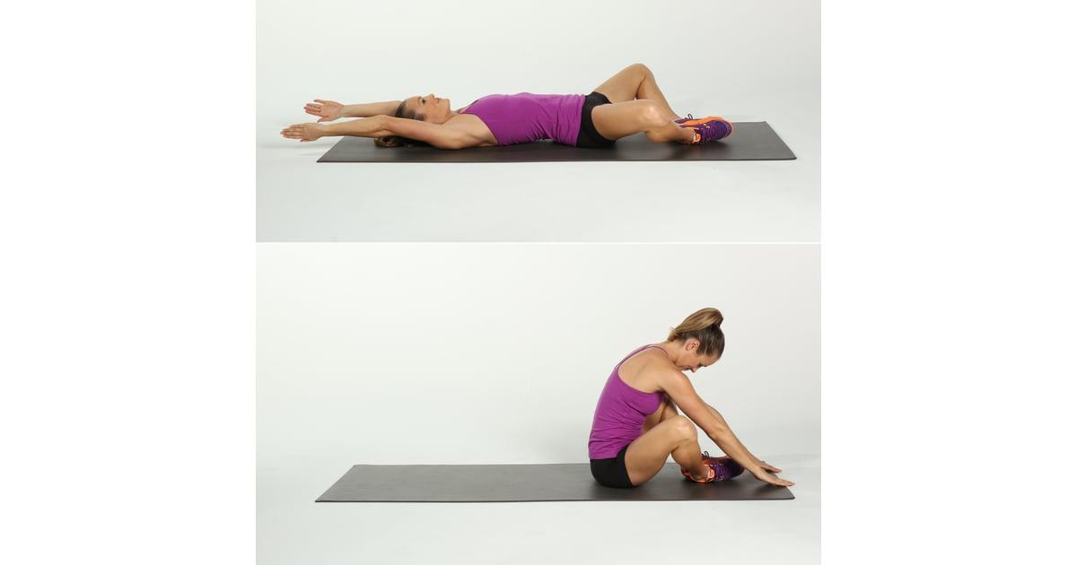 diamond sit up crunch challenge popsugar fitness photo 6. Black Bedroom Furniture Sets. Home Design Ideas