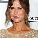 With a mussy ponytail and glowing complexion, Kristen Wiig stunned at the premiere of The Secret Life of Walter Mitty.