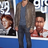 Taylor Lautner dropped by the premiere.
