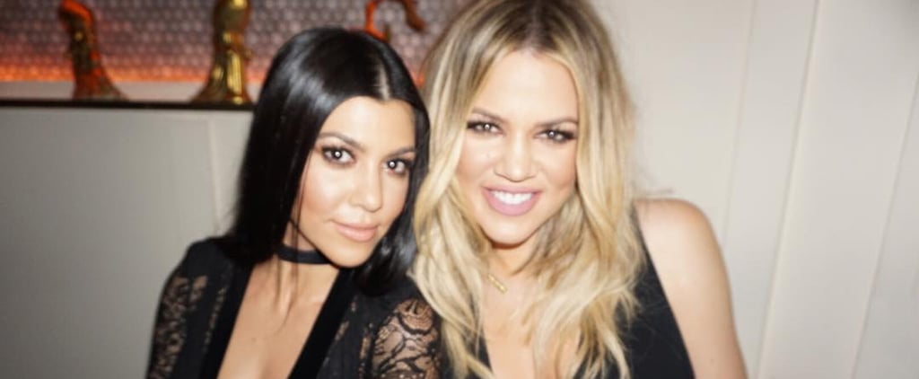 Kourtney and Khloé Kardashian's Snapchat Videos Will Inspire Your Next Workout