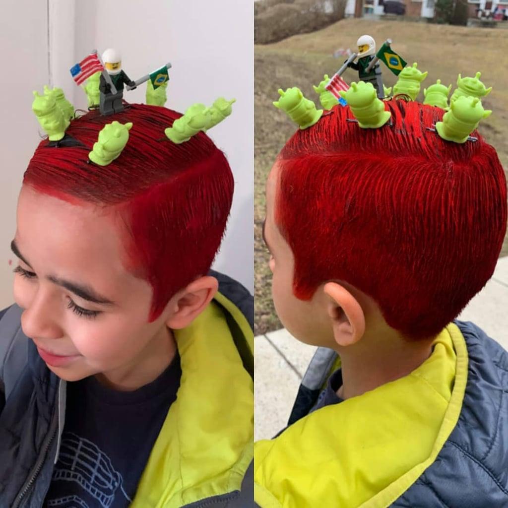 Crazy Hair Day Ideas For Your Kids School Spirit Week Popsugar Family