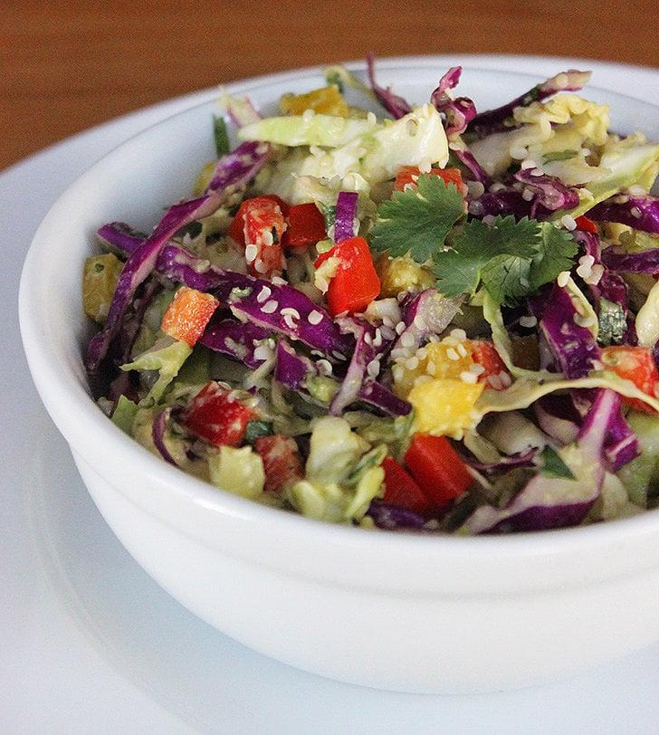 Cabbage and Hemp Detox Salad