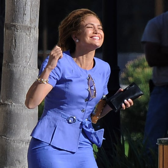 Jennifer Lopez on the Set of Parker in New Orleans Pictures