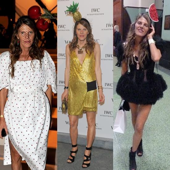 Anna Dello Russo Fruit Hats